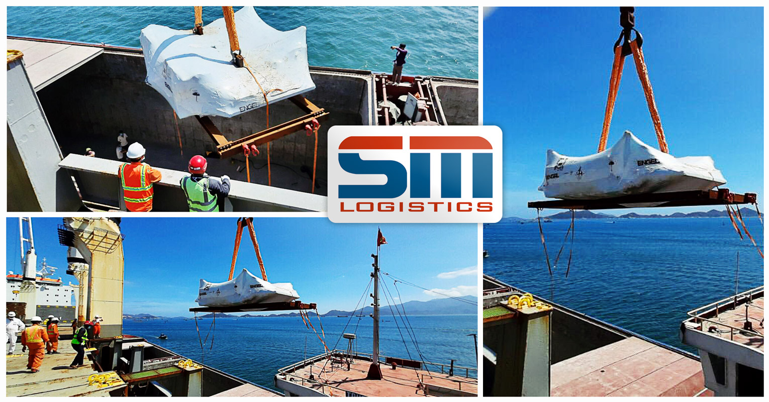 SM Poject Loading via Barge Alongside the Mother Vessels During the Lunar New Year Holiday