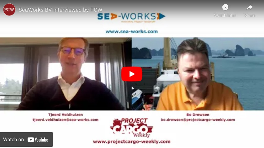 SeaWorks BV interviewed by PCW