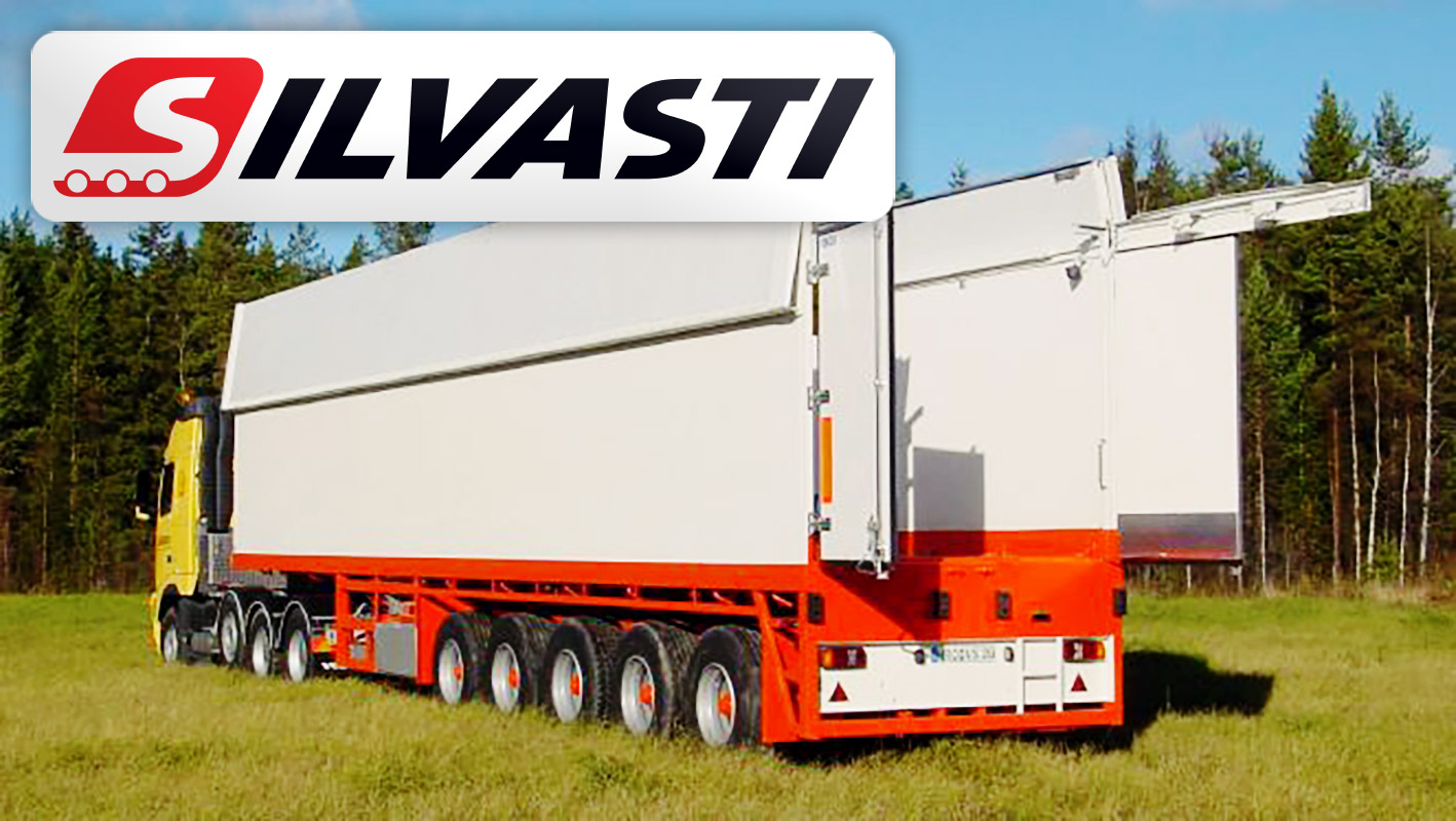 Silvasti is Pleased to Support Customers with Heated Trailers for Heavy Machinery with Payloads of Up-to 60 tons