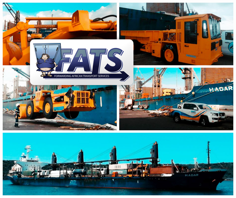 Another Successful Import and Delivery to Door Rustenburg, South Africa was Coordinated by FATS