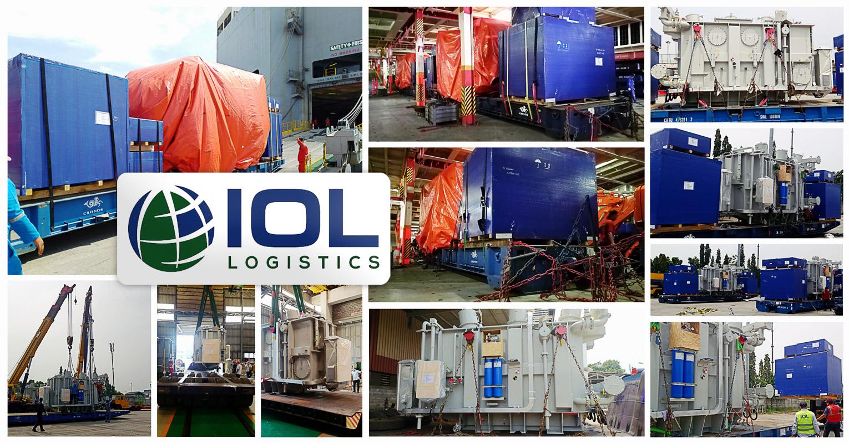 IOL Logistics Delivered 2 x 30 mva 39 ton Transformers from Jakarta to Port Klang