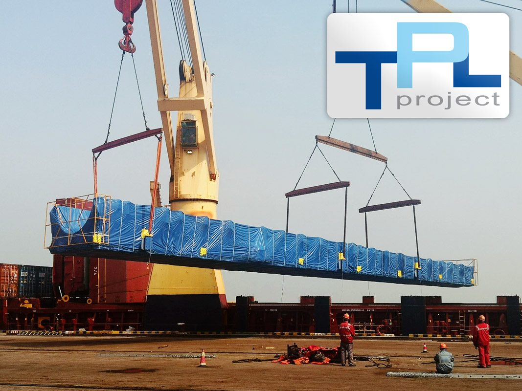 TPL Project Handled the Pre-carriage and Port Operations for Wind Turbine Blade Moulds Destined for Brazil