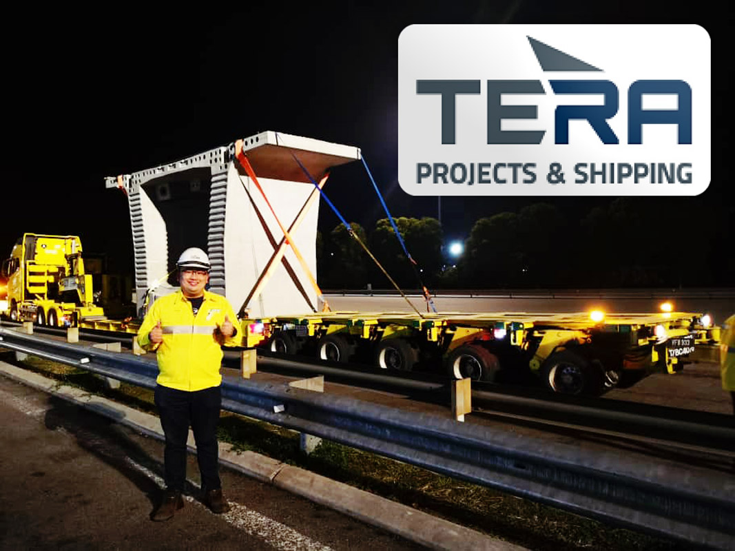 Tera Projects Delivering Concrete Segments for the KVLRT Project in Malaysia