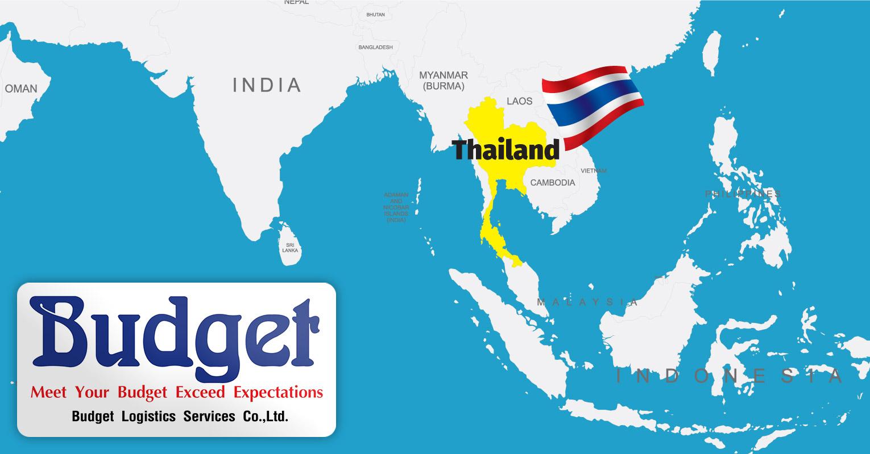 New member representing Thailand – Budget Logistics Services