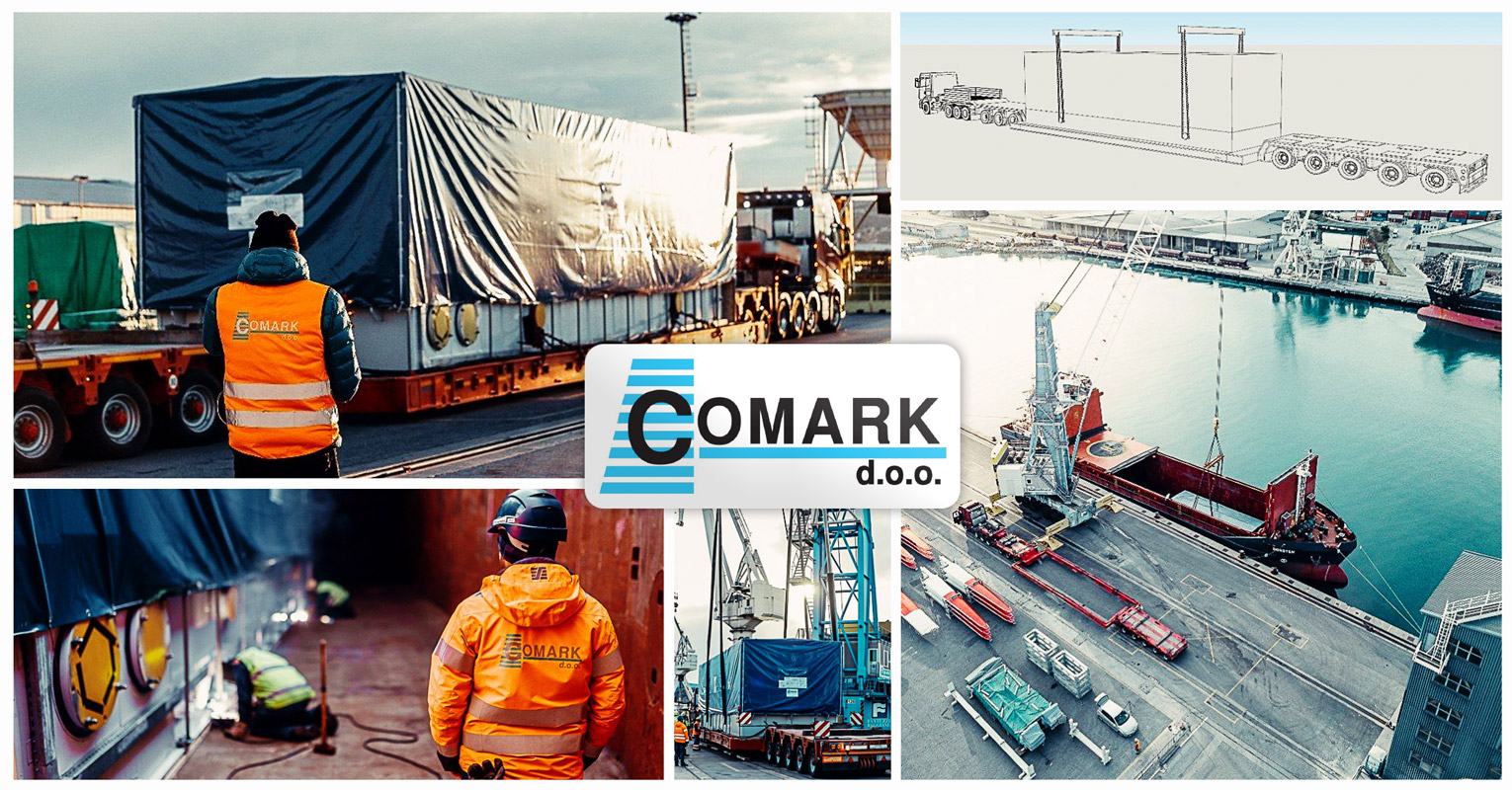 Comark Project Logistics Recently Handled a Special Transport ex-Port of Koper