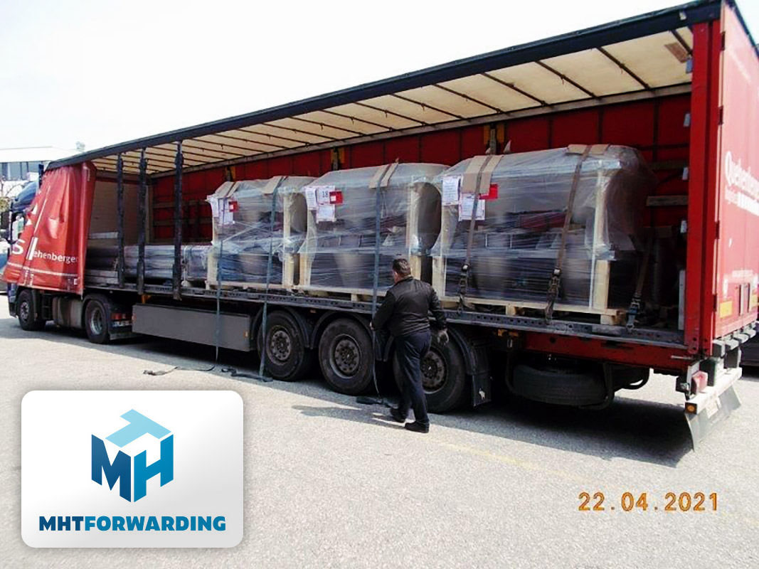 MHT Forwarding Loaded Cargo from Nestlé and Daxner GmbH Destined for Russia