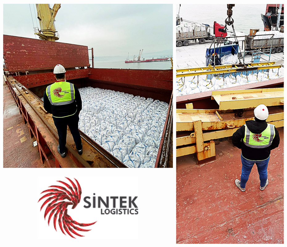 Sintek Project Logistics Team Completed Another Sole Chartering Shipment of a 35000 dwt Vessel & Loading Raw Materials in Big Bags
