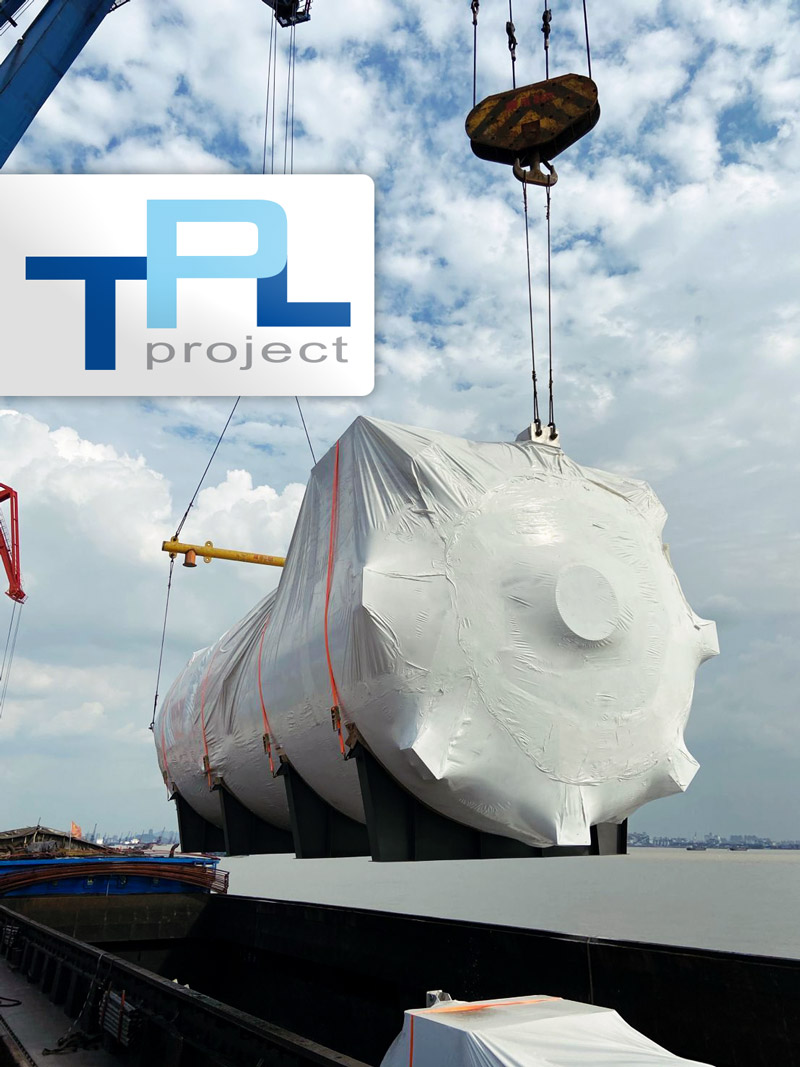 TPL Project Dispatched 24 Sets of Scrubbers in Recent Years for a Top 5 Container Carrier